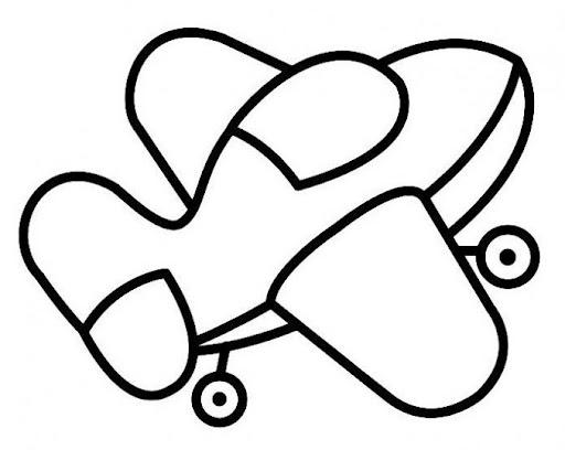 Moldes De Aviao Para Imprimir: Avião Molde : Revista Artesanato