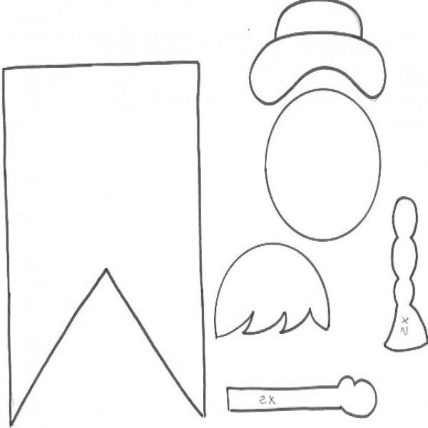 Resultado de imagem para moldes para festa junina