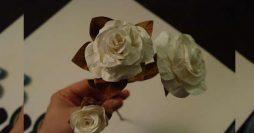 Como fazer flores de papel passo a passo