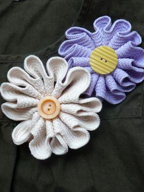 Como fazer uma flor de tecido