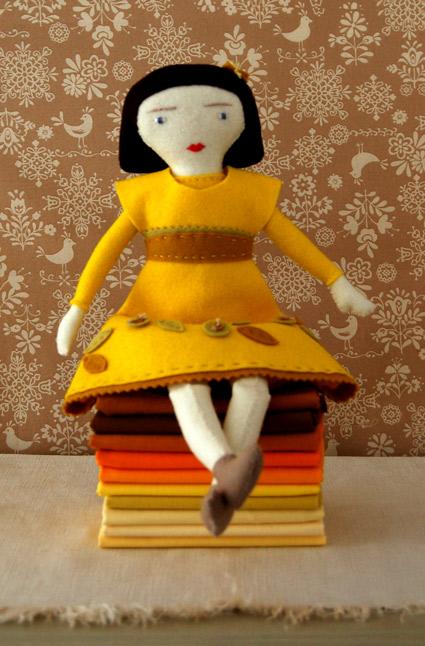 boneca de feltro 2