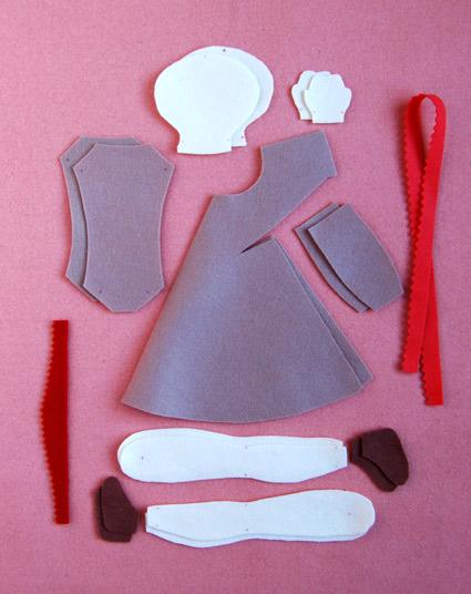 boneca de feltro 3