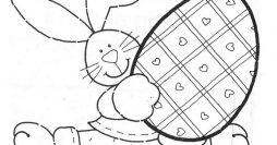 Moldes de coelho para EVA ou Feltro
