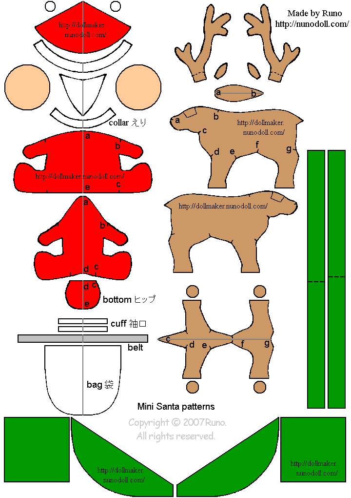 molde-papai-noel