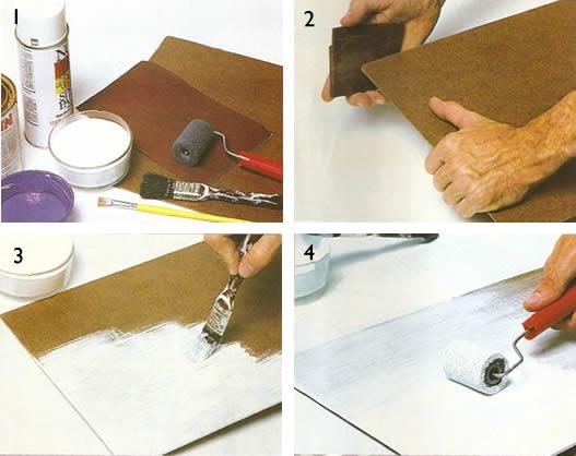 Artesanato De Croche Em Geral ~ Jogo americano de madeira passo a passo Revista Artesanato