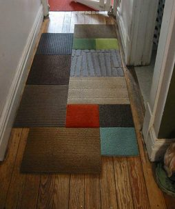 Tapete patchwork – dica de decoração barata e moderna