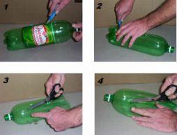 Como fazer uma vassoura de garrafas PET passo a passo