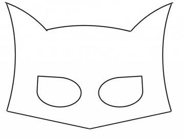 Mascara De Batman Molde Eva Revista Artesanato