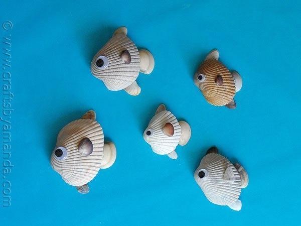 quadro-com-conchas-peixinhos