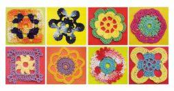 50 gráficos de flores de crochê para download grátis