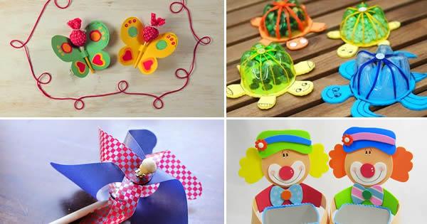 melhores lembrancinhas artesanais para as crianças