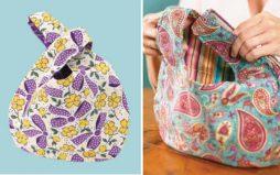 Como fazer uma bolsa feminina japonesa passo a passo