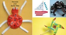 Brinquedos de garrafa pet criativos e ecologicamente corretos