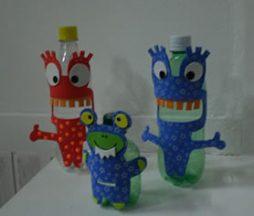 Faça artes reciclando garrafas pet e ajude o meio ambiente