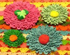 Como fazer uma florzinha com sianinha