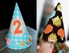 Chapeuzinho personalizado para festa infantil