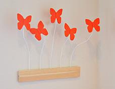 Como decorar um quarto com borboletas