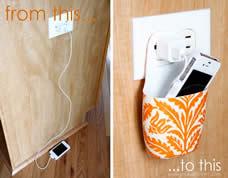 Recicle – Porta celular feito com embalagem usada