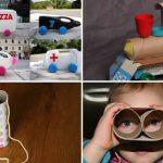 ideias para fazer brinquedos reciclados