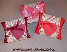 Ideia de embalagem de presente para o dia dos namorados