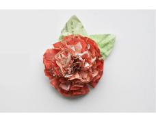 Flores de papel – Reciclando com delicadeza