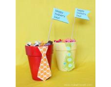 Dia dos pais – Porta doces estilizado