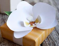 Como fazer orquídea de papel passo a passo