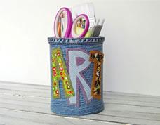 Latinha criativa decorada com tecido – a união entre reciclagem e artesanato