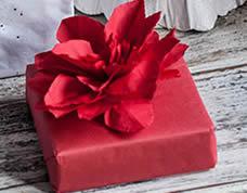 Flor de papel de guardanapo – diferente e bonita