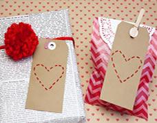 Tags de coração – lindos para decorar seus presentes