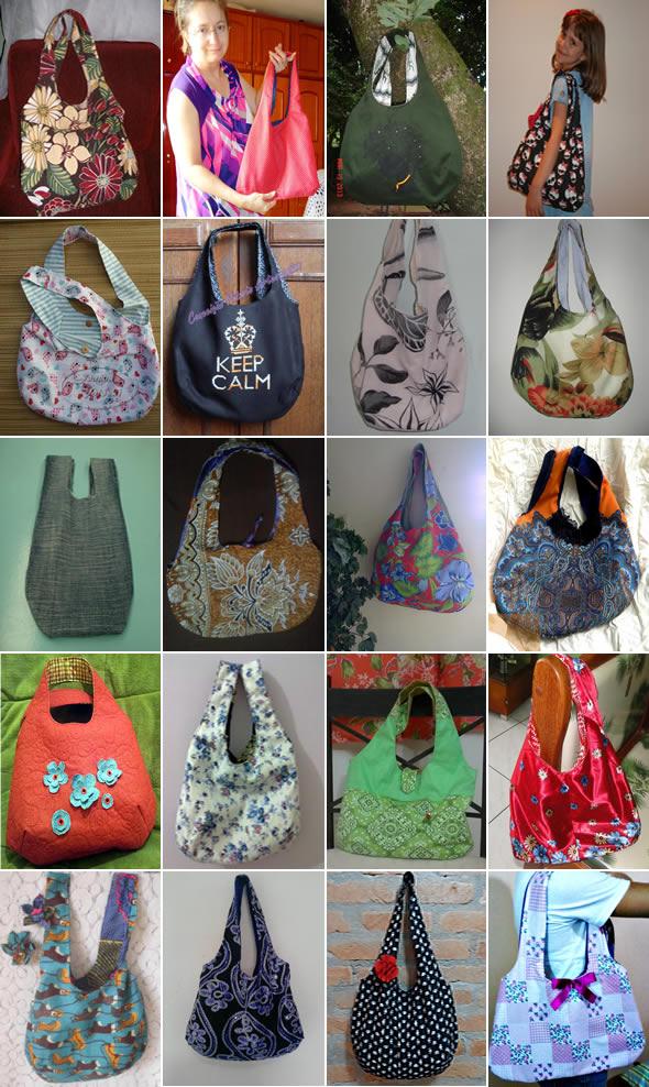 desafio costura bolsas