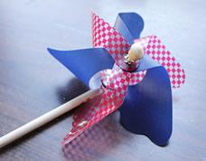 Como fazer um cata-vento para crianças super legal