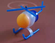 Brinquedo reciclado – helicóptero com garrafa de suco