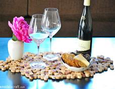 Ideia mega criativa para reutilizar rolhas de garrafas de vinho