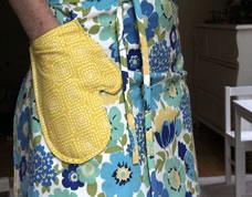 Como fazer um lindo avental com bolso