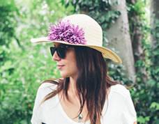 Aplique para personalizar chapéus, bolsas e afins