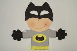 Batman em EVA para festa infantil – passo a passo
