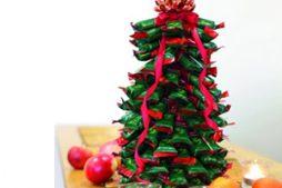 Árvore de Natal de chocolate – como fazer passo a passo