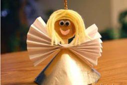 Anjinho fofo feito com palito de picolé super fácil