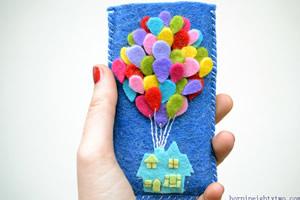 Capa de celular em feltro – você vai se apaixonar