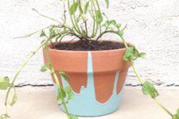 4 passos para fazer um vaso de planta decorado