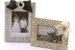 Porta retrato de casamento – faça o seu em casa