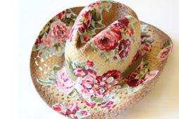 Chapéu de palha personalizado – moda feita por você