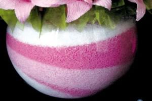 Artesanato com sal colorido – monte um lindo vaso
