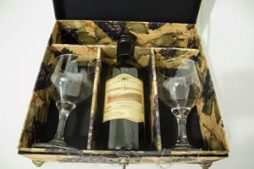 Caixa de vinho em cartonagem – artesanato passo a passo