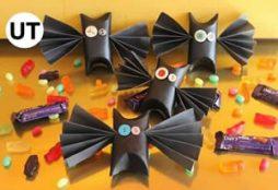 Morcego com rolo de papel – Criatividade sem limites