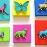 quadro animais - miniaturas