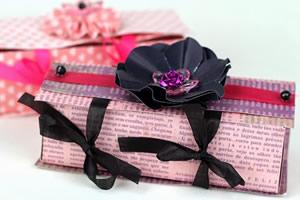 Como fazer caixinhas em scrapbooking – lembrancinha para festas