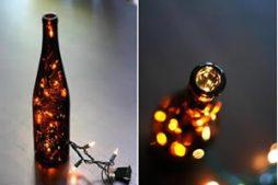 Iluminação diferente com luzinha pisca pisca – Faça você mesmo