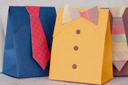 Como fazer embrulho de presente para o Dia dos Pais